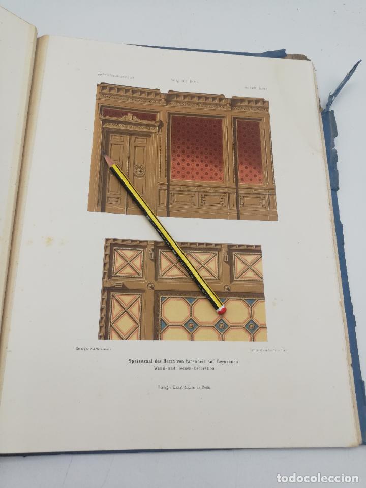 Libros antiguos: L´ARCHITECTURE ALLEMANDE AU XIX SIECLE. RECUELL DE MASIONS DE VILLE ET DE CAMPAGNE. 9 TOMOS.VER.LEER - Foto 234 - 267903714