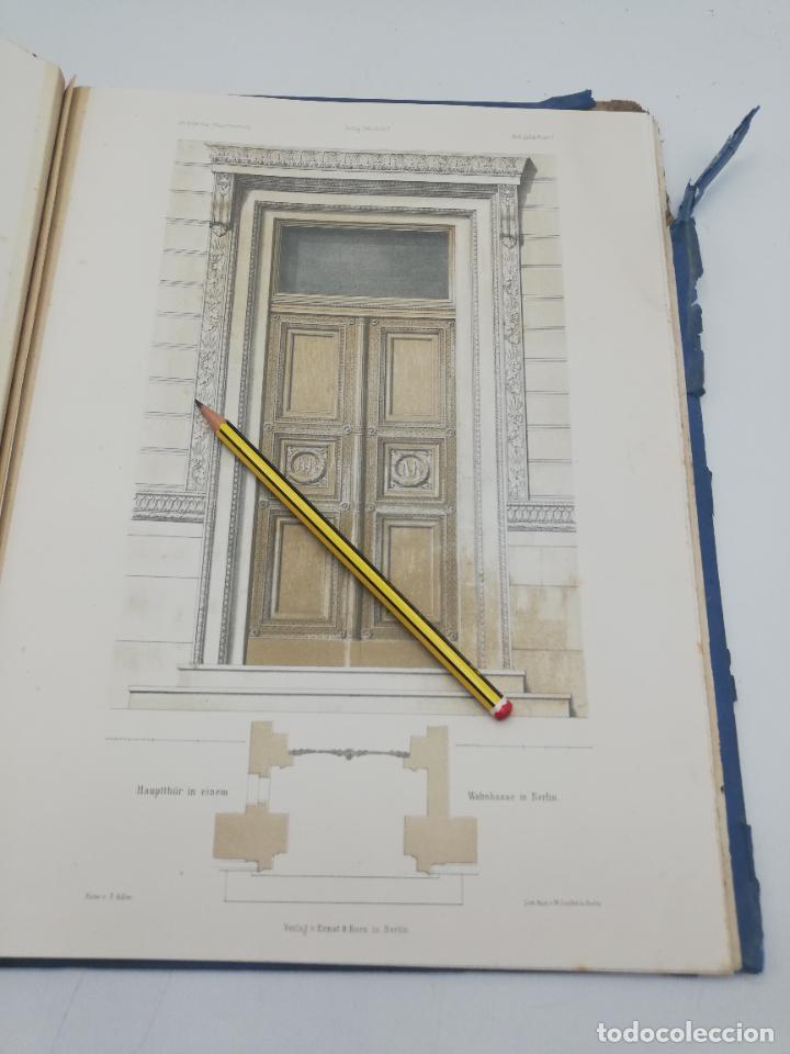 Libros antiguos: L´ARCHITECTURE ALLEMANDE AU XIX SIECLE. RECUELL DE MASIONS DE VILLE ET DE CAMPAGNE. 9 TOMOS.VER.LEER - Foto 235 - 267903714
