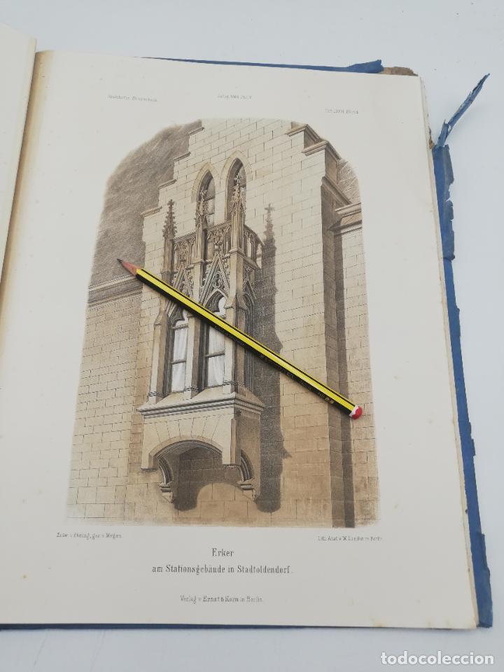 Libros antiguos: L´ARCHITECTURE ALLEMANDE AU XIX SIECLE. RECUELL DE MASIONS DE VILLE ET DE CAMPAGNE. 9 TOMOS.VER.LEER - Foto 236 - 267903714