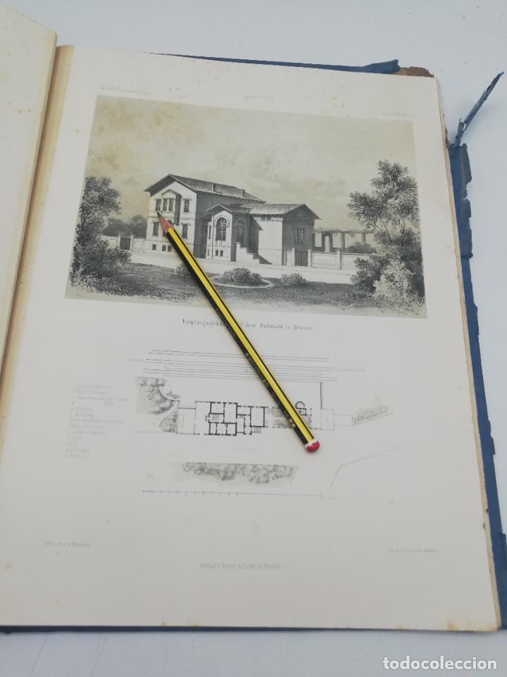Libros antiguos: L´ARCHITECTURE ALLEMANDE AU XIX SIECLE. RECUELL DE MASIONS DE VILLE ET DE CAMPAGNE. 9 TOMOS.VER.LEER - Foto 237 - 267903714