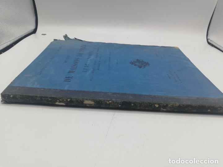 Libros antiguos: L´ARCHITECTURE ALLEMANDE AU XIX SIECLE. RECUELL DE MASIONS DE VILLE ET DE CAMPAGNE. 9 TOMOS.VER.LEER - Foto 240 - 267903714