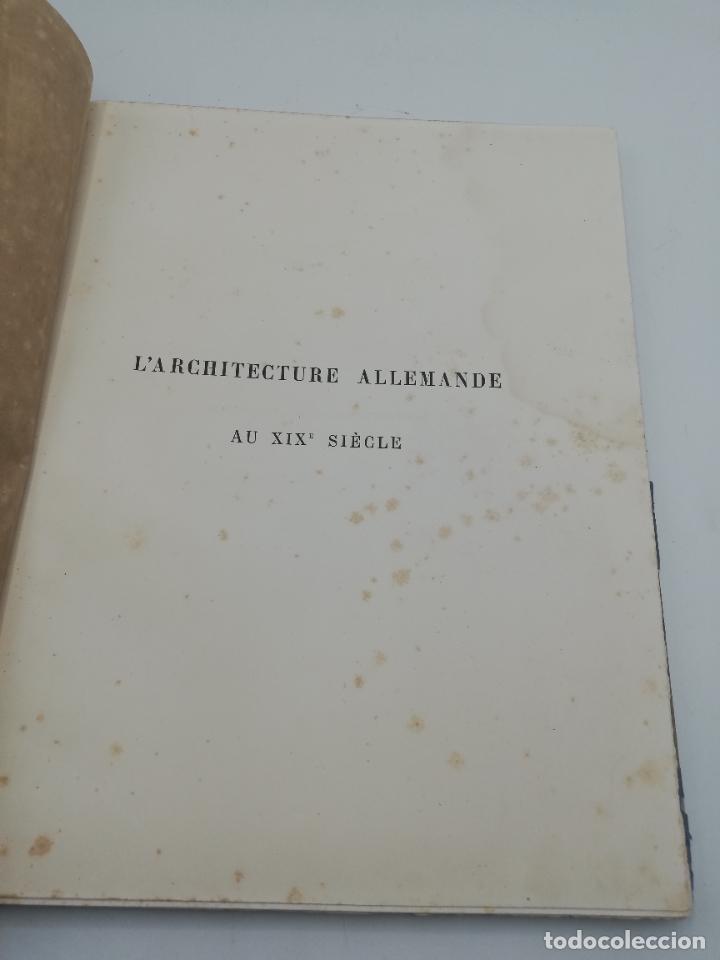 Libros antiguos: L´ARCHITECTURE ALLEMANDE AU XIX SIECLE. RECUELL DE MASIONS DE VILLE ET DE CAMPAGNE. 9 TOMOS.VER.LEER - Foto 242 - 267903714
