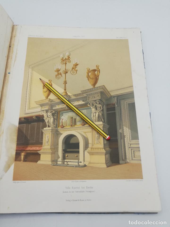 Libros antiguos: L´ARCHITECTURE ALLEMANDE AU XIX SIECLE. RECUELL DE MASIONS DE VILLE ET DE CAMPAGNE. 9 TOMOS.VER.LEER - Foto 251 - 267903714