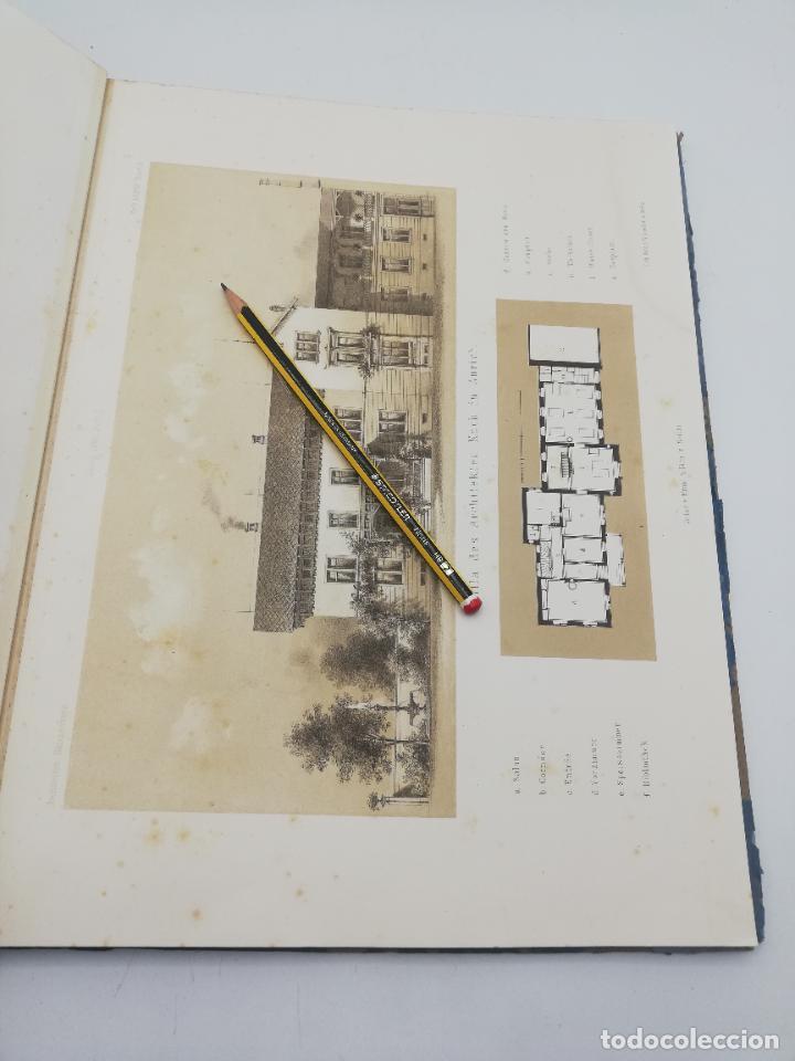 Libros antiguos: L´ARCHITECTURE ALLEMANDE AU XIX SIECLE. RECUELL DE MASIONS DE VILLE ET DE CAMPAGNE. 9 TOMOS.VER.LEER - Foto 255 - 267903714