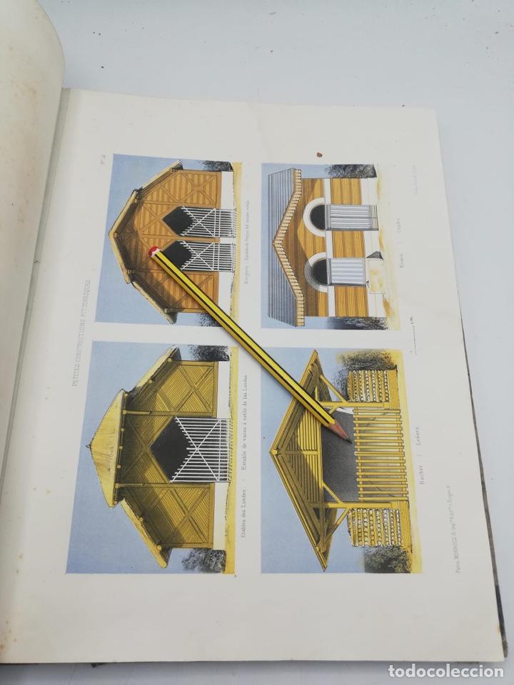 Libros antiguos: PETITES CONSTRUCTIONS PITTORESQUES POR LA DECORATIONS PARCS, JARDINS, FERMES ET BASSES-COURS - Foto 32 - 268022319