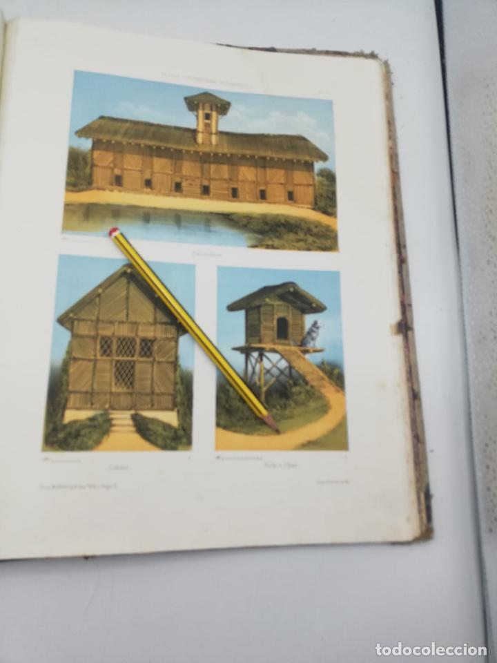 Libros antiguos: PETITES CONSTRUCTIONS PITTORESQUES POR LA DECORATIONS PARCS, JARDINS, FERMES ET BASSES-COURS - Foto 46 - 268022319