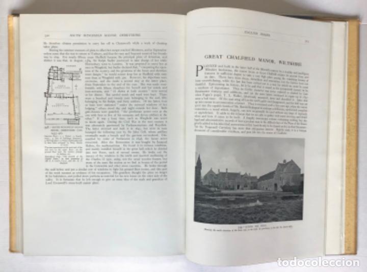 Libros antiguos: ENGLISH HOMES. Period I. Vol. I. NORMAN & PLANTAGENET, 1066-1485. - AVRAY TIPPING, H. - Foto 5 - 268284804