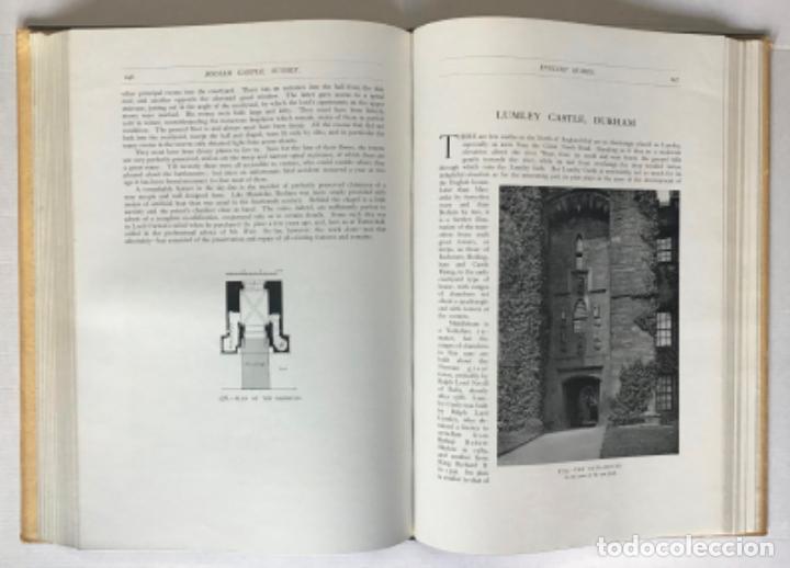 Libros antiguos: ENGLISH HOMES. Period I. Vol. I. NORMAN & PLANTAGENET, 1066-1485. - AVRAY TIPPING, H. - Foto 6 - 268284804