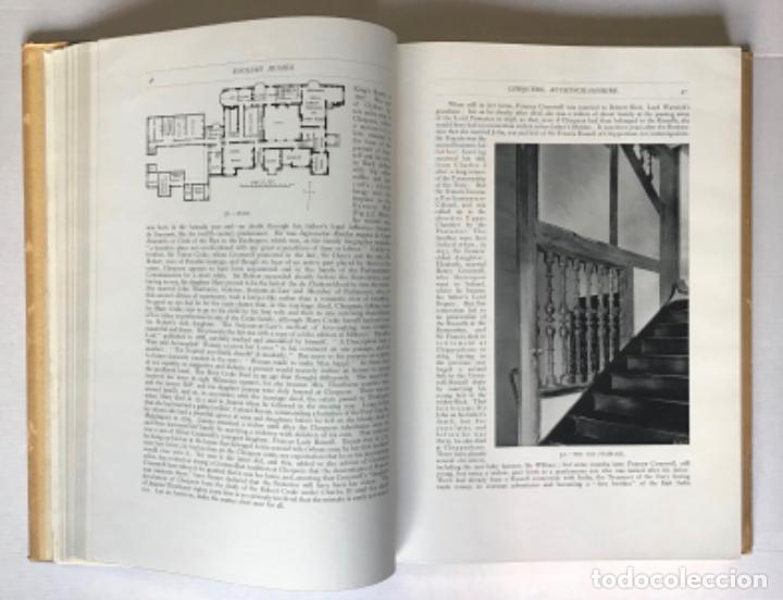 Libros antiguos: ENGLISH HOMES. Period III. Vol. I. LATE TUDOR & EARLY STUART, 1558-1649. - AVRAY TIPPING, H. - Foto 3 - 268289774