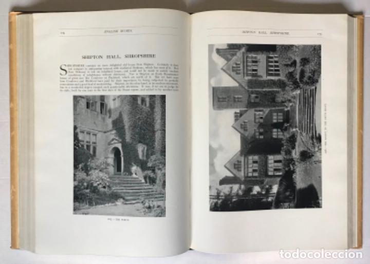 Libros antiguos: ENGLISH HOMES. Period III. Vol. I. LATE TUDOR & EARLY STUART, 1558-1649. - AVRAY TIPPING, H. - Foto 4 - 268289774