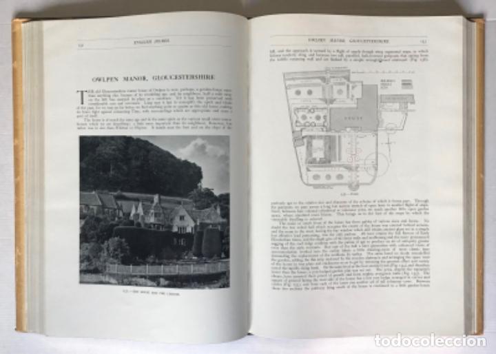 Libros antiguos: ENGLISH HOMES. Period III. Vol. I. LATE TUDOR & EARLY STUART, 1558-1649. - AVRAY TIPPING, H. - Foto 5 - 268289774