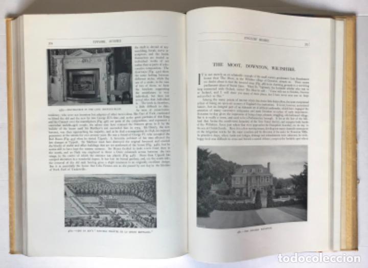 Libros antiguos: ENGLISH HOMES. Period IV. Vol. I. LATE STUART, 1649-1714. - AVRAY TIPPING, H. - Foto 7 - 268292764