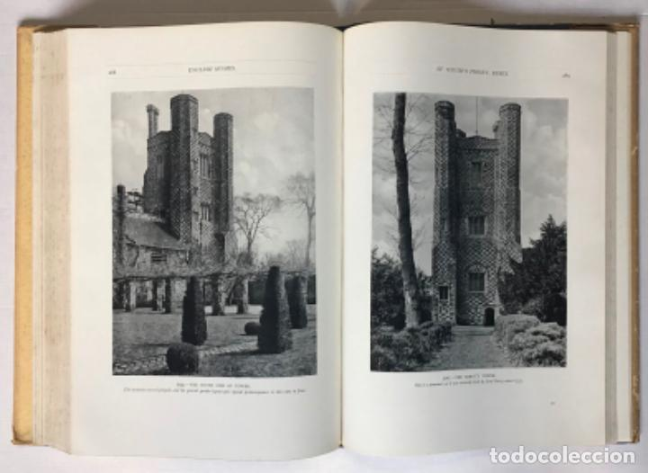 Libros antiguos: ENGLISH HOMES. Period II. Vol. I. EARLY TUDOR, 1485-1558. - AVRAY TIPPING, H. - Foto 3 - 268294819