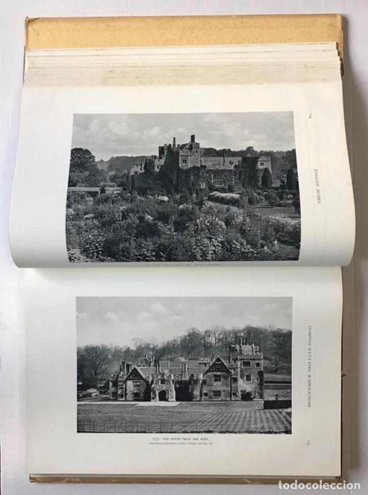 Libros antiguos: ENGLISH HOMES. Period II. Vol. I. EARLY TUDOR, 1485-1558. - AVRAY TIPPING, H. - Foto 4 - 268294819