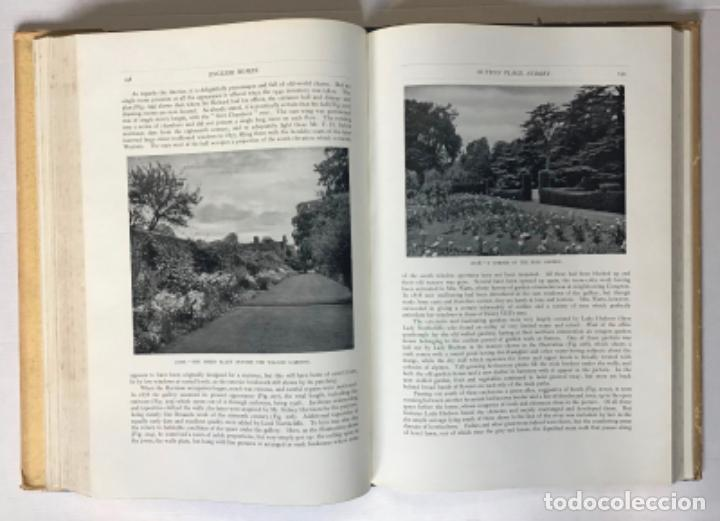 Libros antiguos: ENGLISH HOMES. Period II. Vol. I. EARLY TUDOR, 1485-1558. - AVRAY TIPPING, H. - Foto 5 - 268294819