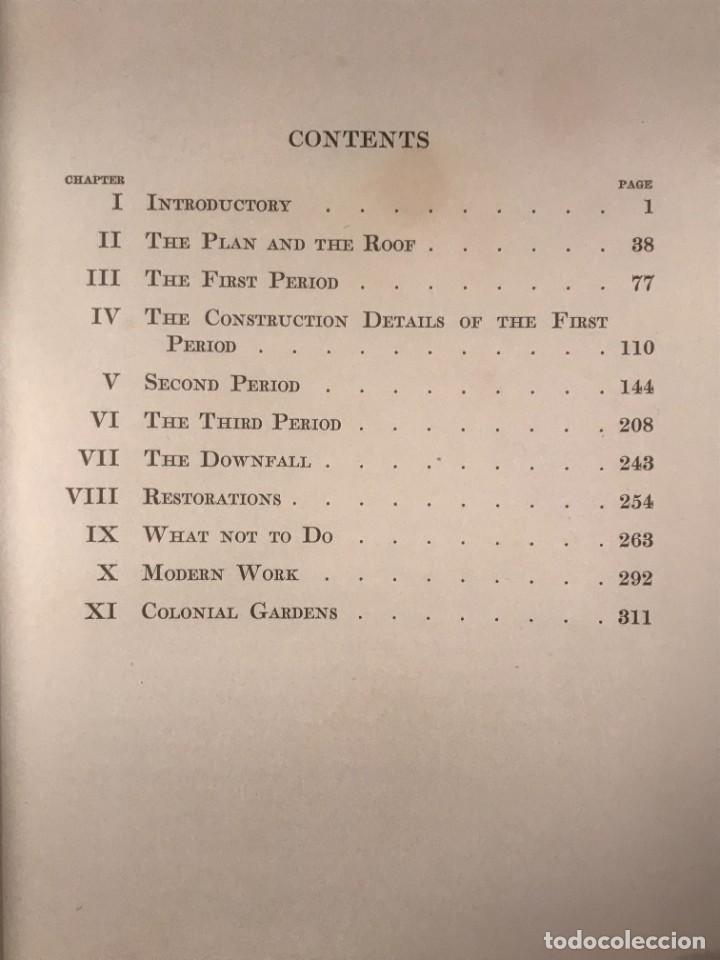 Libros antiguos: THE COLONIAL HOUSE , 1916 JOSEPH EVERETT CHANDLER - Foto 5 - 268744239
