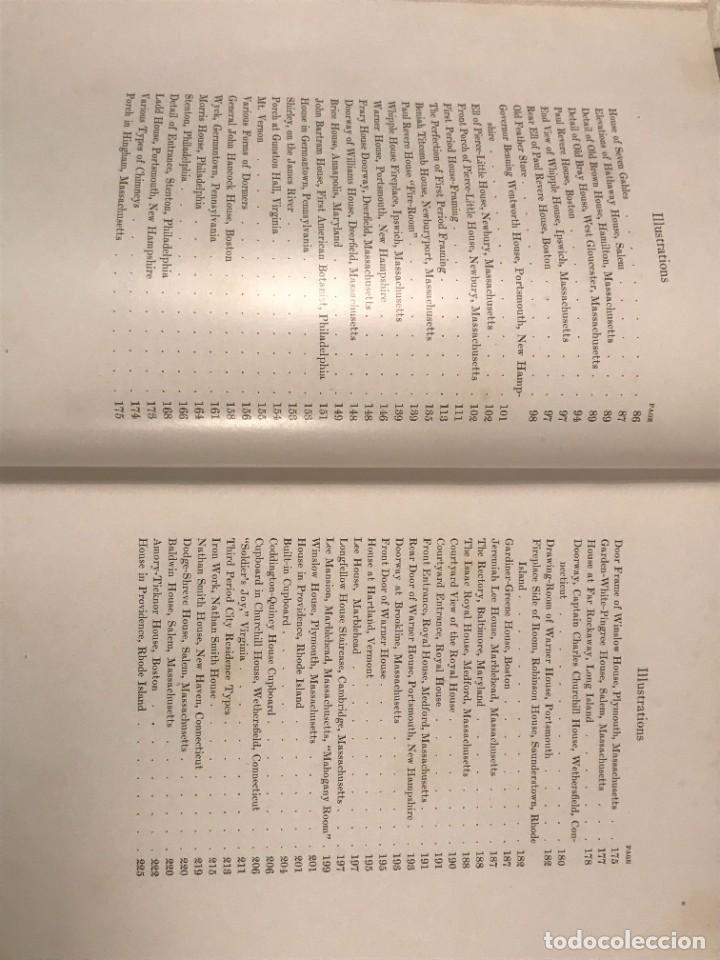 Libros antiguos: THE COLONIAL HOUSE , 1916 JOSEPH EVERETT CHANDLER - Foto 6 - 268744239