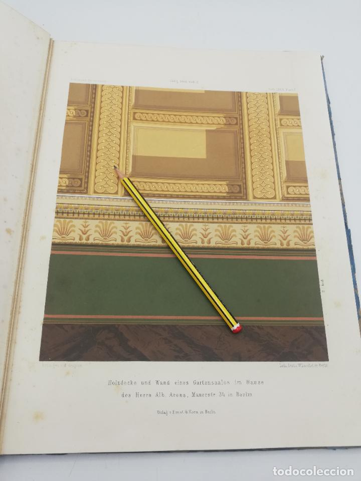Libros antiguos: L´ARCHITECTURE ALLEMANDE AU XIX SIECLE. RECUELL DE MASIONS DE VILLE ET DE CAMPAGNE. 9 TOMOS.VER.LEER - Foto 257 - 267903714
