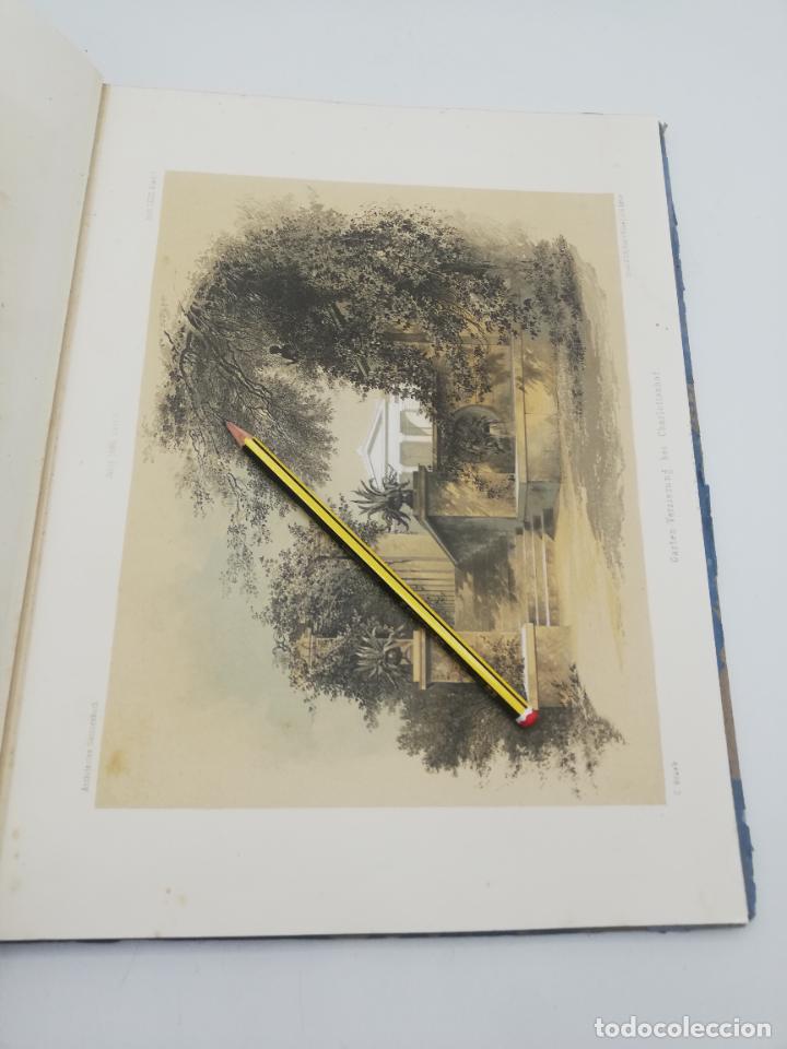 Libros antiguos: L´ARCHITECTURE ALLEMANDE AU XIX SIECLE. RECUELL DE MASIONS DE VILLE ET DE CAMPAGNE. 9 TOMOS.VER.LEER - Foto 258 - 267903714