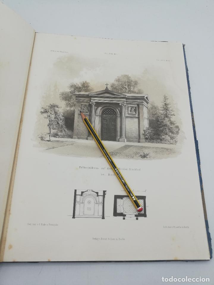Libros antiguos: L´ARCHITECTURE ALLEMANDE AU XIX SIECLE. RECUELL DE MASIONS DE VILLE ET DE CAMPAGNE. 9 TOMOS.VER.LEER - Foto 259 - 267903714