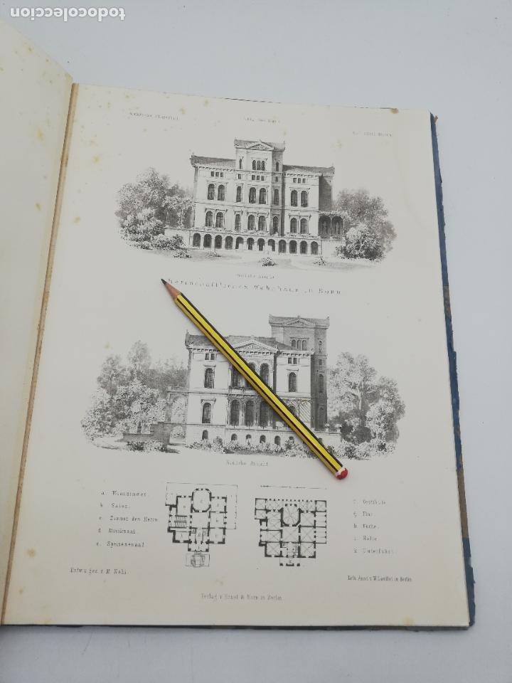 Libros antiguos: L´ARCHITECTURE ALLEMANDE AU XIX SIECLE. RECUELL DE MASIONS DE VILLE ET DE CAMPAGNE. 9 TOMOS.VER.LEER - Foto 260 - 267903714