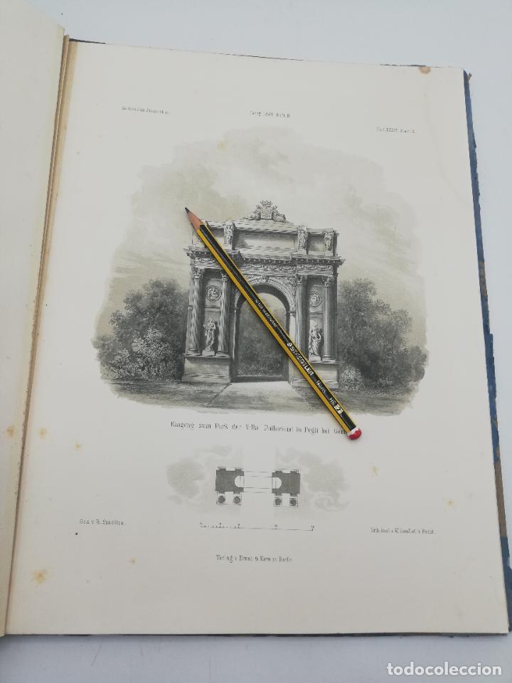 Libros antiguos: L´ARCHITECTURE ALLEMANDE AU XIX SIECLE. RECUELL DE MASIONS DE VILLE ET DE CAMPAGNE. 9 TOMOS.VER.LEER - Foto 261 - 267903714