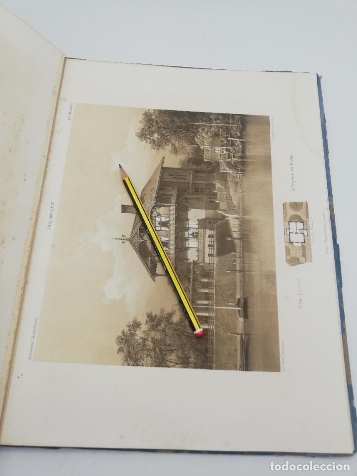 Libros antiguos: L´ARCHITECTURE ALLEMANDE AU XIX SIECLE. RECUELL DE MASIONS DE VILLE ET DE CAMPAGNE. 9 TOMOS.VER.LEER - Foto 265 - 267903714