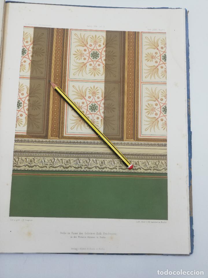 Libros antiguos: L´ARCHITECTURE ALLEMANDE AU XIX SIECLE. RECUELL DE MASIONS DE VILLE ET DE CAMPAGNE. 9 TOMOS.VER.LEER - Foto 269 - 267903714