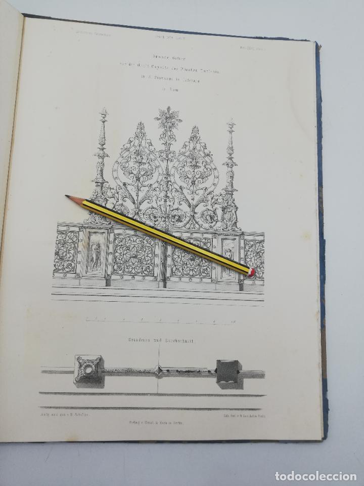 Libros antiguos: L´ARCHITECTURE ALLEMANDE AU XIX SIECLE. RECUELL DE MASIONS DE VILLE ET DE CAMPAGNE. 9 TOMOS.VER.LEER - Foto 270 - 267903714