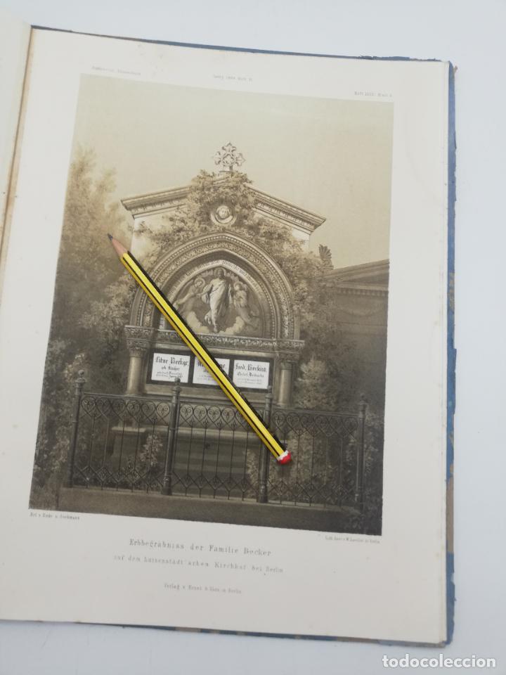 Libros antiguos: L´ARCHITECTURE ALLEMANDE AU XIX SIECLE. RECUELL DE MASIONS DE VILLE ET DE CAMPAGNE. 9 TOMOS.VER.LEER - Foto 272 - 267903714