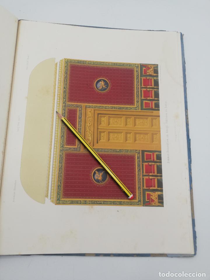 Libros antiguos: L´ARCHITECTURE ALLEMANDE AU XIX SIECLE. RECUELL DE MASIONS DE VILLE ET DE CAMPAGNE. 9 TOMOS.VER.LEER - Foto 275 - 267903714