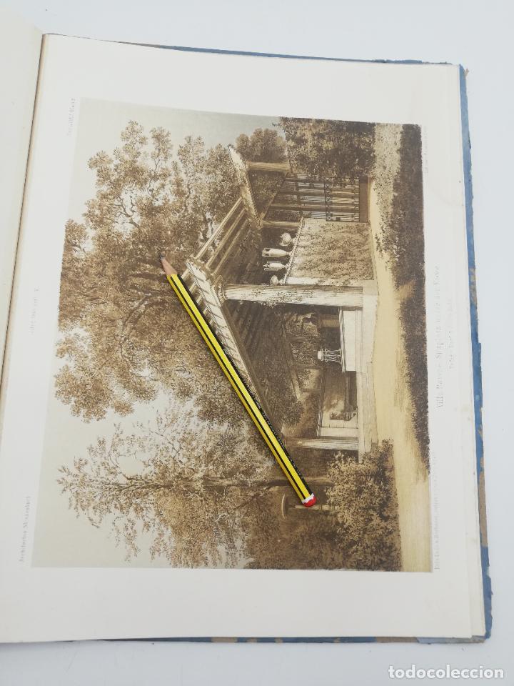 Libros antiguos: L´ARCHITECTURE ALLEMANDE AU XIX SIECLE. RECUELL DE MASIONS DE VILLE ET DE CAMPAGNE. 9 TOMOS.VER.LEER - Foto 276 - 267903714