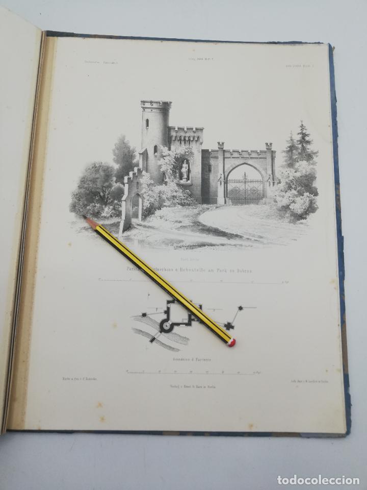 Libros antiguos: L´ARCHITECTURE ALLEMANDE AU XIX SIECLE. RECUELL DE MASIONS DE VILLE ET DE CAMPAGNE. 9 TOMOS.VER.LEER - Foto 277 - 267903714