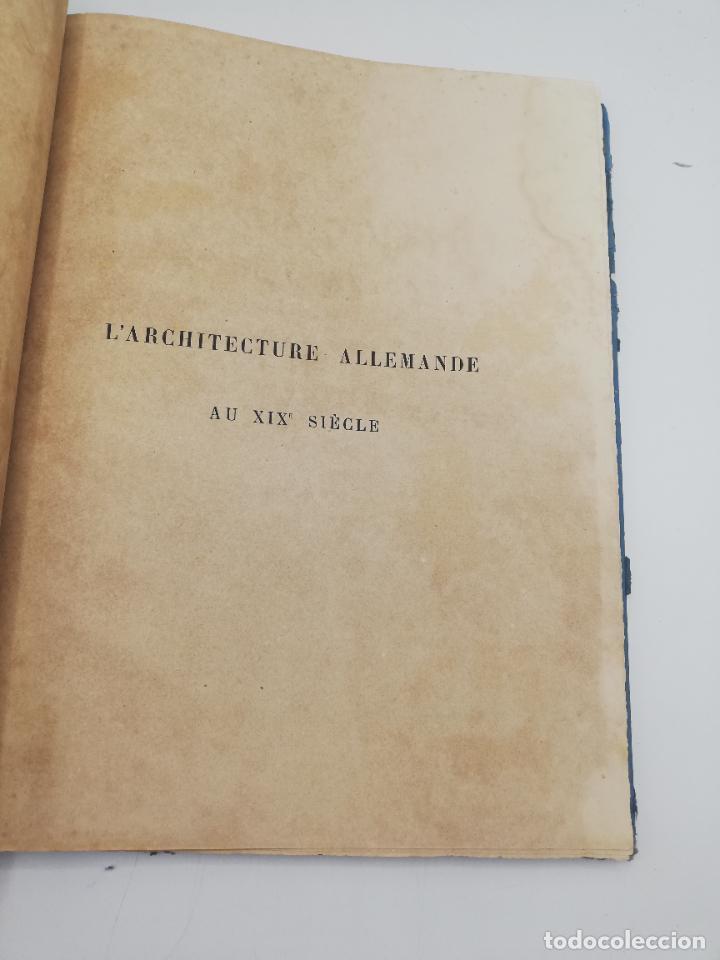 Libros antiguos: L´ARCHITECTURE ALLEMANDE AU XIX SIECLE. RECUELL DE MASIONS DE VILLE ET DE CAMPAGNE. 9 TOMOS.VER.LEER - Foto 284 - 267903714