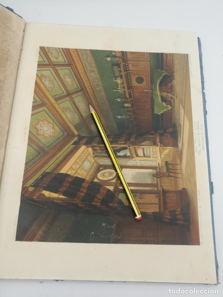 Libros antiguos: L´ARCHITECTURE ALLEMANDE AU XIX SIECLE. RECUELL DE MASIONS DE VILLE ET DE CAMPAGNE. 9 TOMOS.VER.LEER - Foto 287 - 267903714
