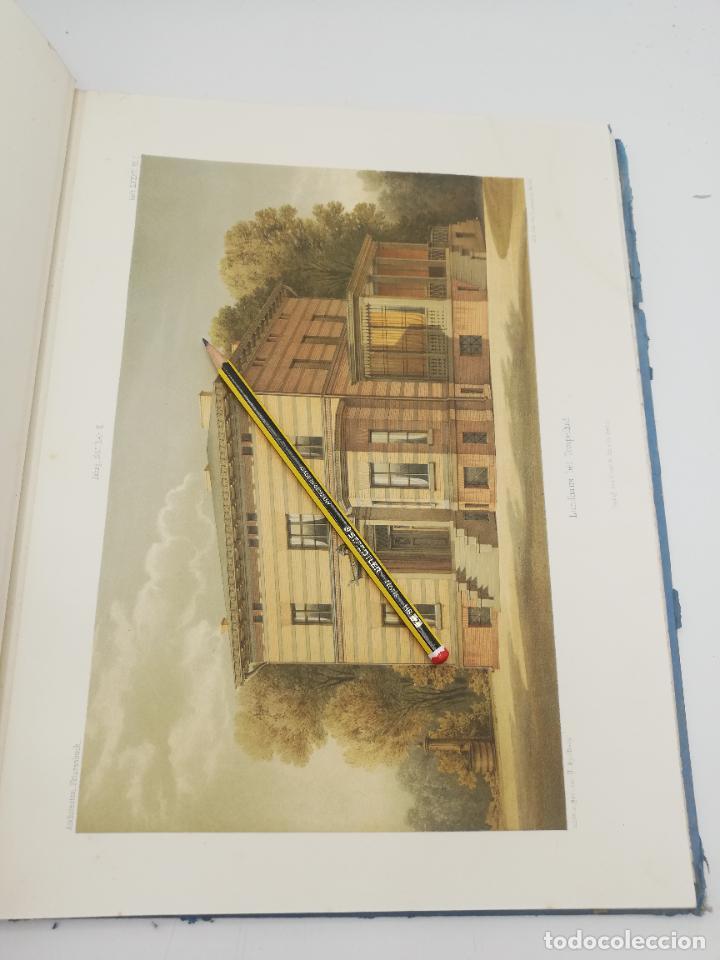 Libros antiguos: L´ARCHITECTURE ALLEMANDE AU XIX SIECLE. RECUELL DE MASIONS DE VILLE ET DE CAMPAGNE. 9 TOMOS.VER.LEER - Foto 293 - 267903714