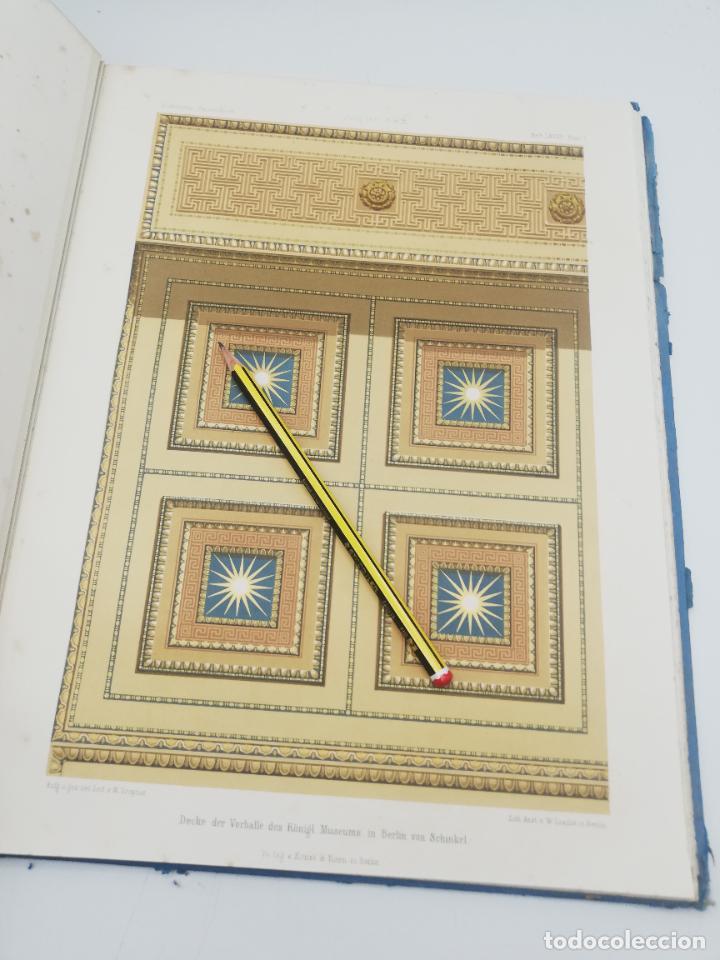 Libros antiguos: L´ARCHITECTURE ALLEMANDE AU XIX SIECLE. RECUELL DE MASIONS DE VILLE ET DE CAMPAGNE. 9 TOMOS.VER.LEER - Foto 298 - 267903714
