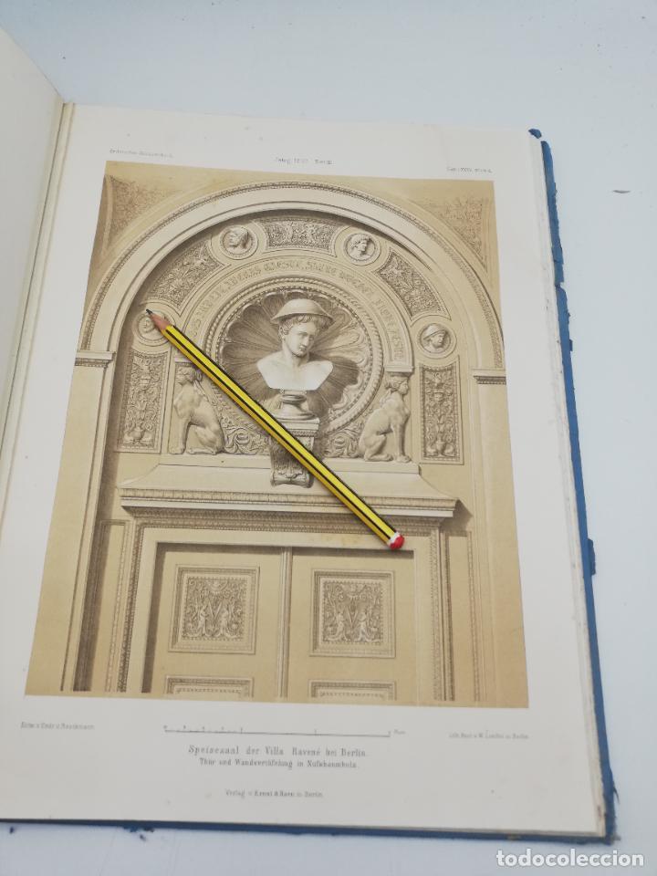Libros antiguos: L´ARCHITECTURE ALLEMANDE AU XIX SIECLE. RECUELL DE MASIONS DE VILLE ET DE CAMPAGNE. 9 TOMOS.VER.LEER - Foto 300 - 267903714