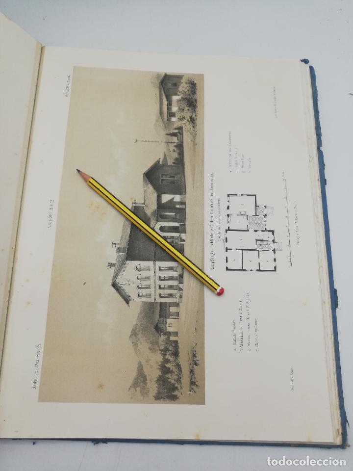 Libros antiguos: L´ARCHITECTURE ALLEMANDE AU XIX SIECLE. RECUELL DE MASIONS DE VILLE ET DE CAMPAGNE. 9 TOMOS.VER.LEER - Foto 302 - 267903714