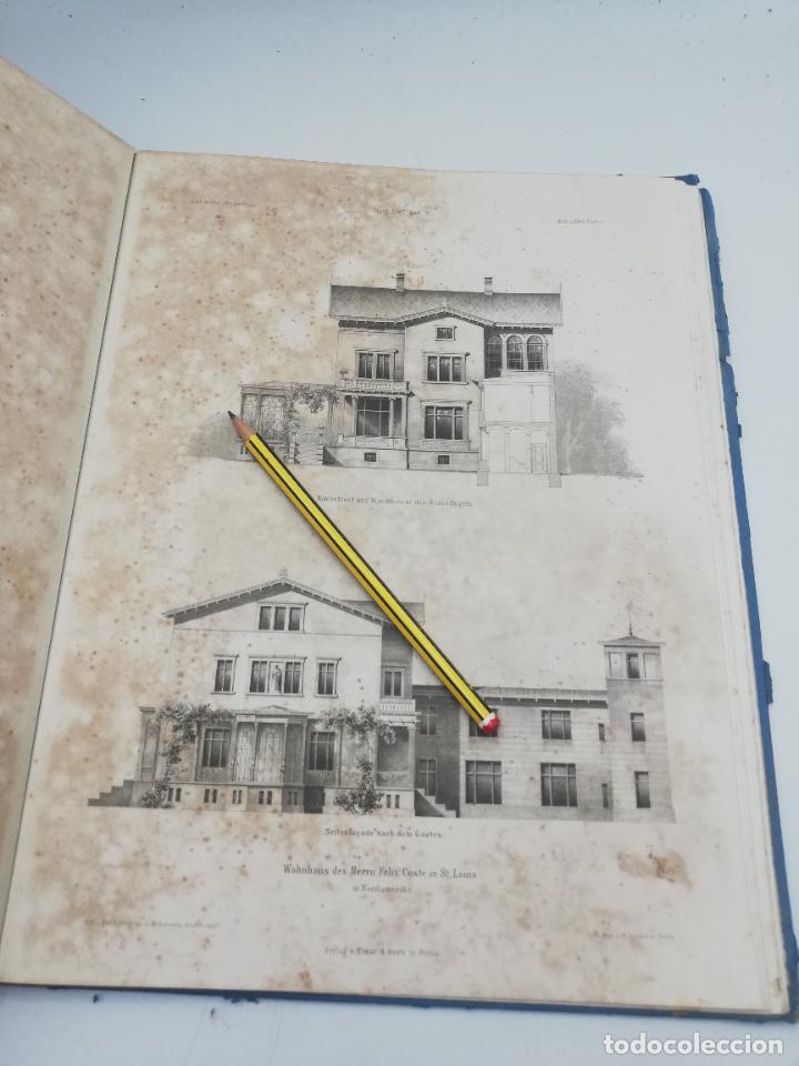 Libros antiguos: L´ARCHITECTURE ALLEMANDE AU XIX SIECLE. RECUELL DE MASIONS DE VILLE ET DE CAMPAGNE. 9 TOMOS.VER.LEER - Foto 307 - 267903714