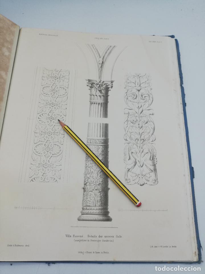 Libros antiguos: L´ARCHITECTURE ALLEMANDE AU XIX SIECLE. RECUELL DE MASIONS DE VILLE ET DE CAMPAGNE. 9 TOMOS.VER.LEER - Foto 308 - 267903714