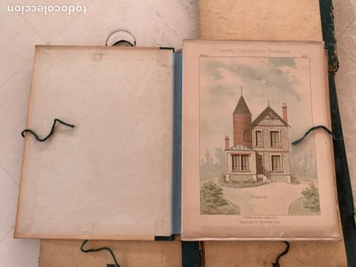 Libros antiguos: PETITES CONSTRUCTIONES FRANÇAISES EMILE THÉZARD 1885 ARQUITECTURA 4 VOLUMENES - Foto 7 - 269454553