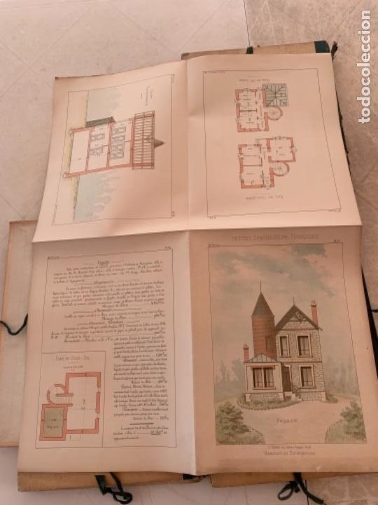 Libros antiguos: PETITES CONSTRUCTIONES FRANÇAISES EMILE THÉZARD 1885 ARQUITECTURA 4 VOLUMENES - Foto 8 - 269454553