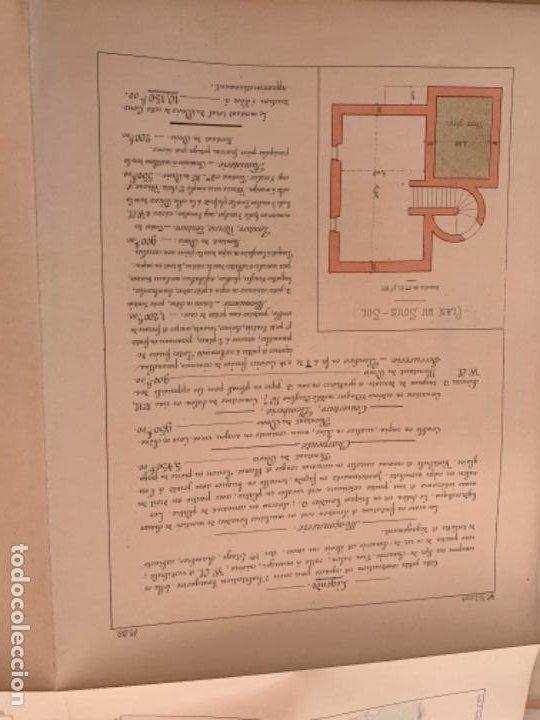 Libros antiguos: PETITES CONSTRUCTIONES FRANÇAISES EMILE THÉZARD 1885 ARQUITECTURA 4 VOLUMENES - Foto 9 - 269454553
