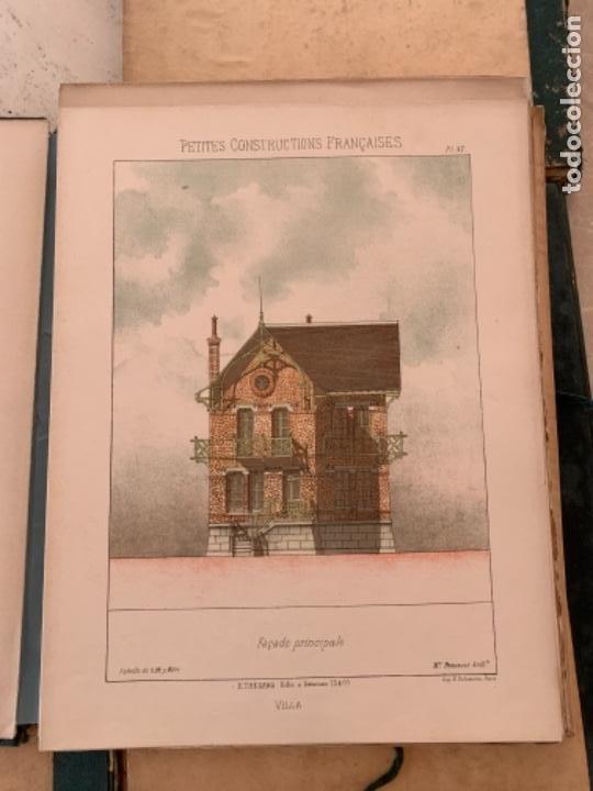 Libros antiguos: PETITES CONSTRUCTIONES FRANÇAISES EMILE THÉZARD 1885 ARQUITECTURA 4 VOLUMENES - Foto 12 - 269454553