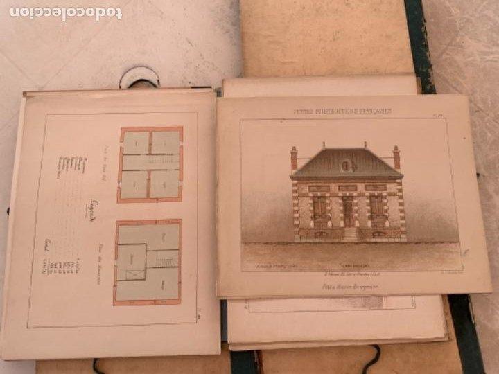 Libros antiguos: PETITES CONSTRUCTIONES FRANÇAISES EMILE THÉZARD 1885 ARQUITECTURA 4 VOLUMENES - Foto 14 - 269454553