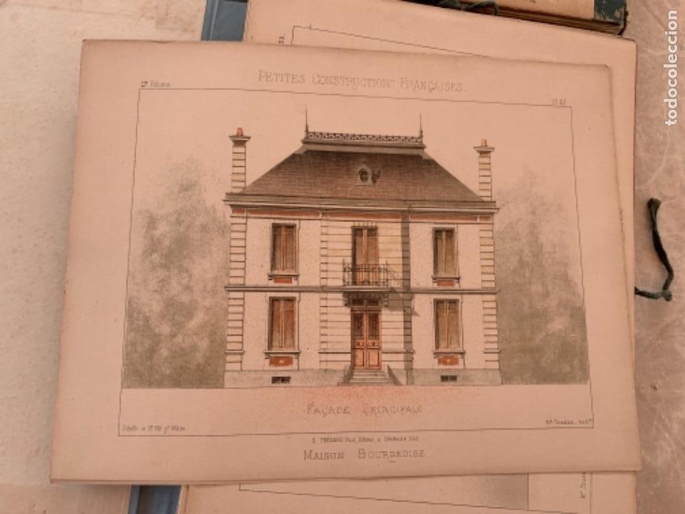 Libros antiguos: PETITES CONSTRUCTIONES FRANÇAISES EMILE THÉZARD 1885 ARQUITECTURA 4 VOLUMENES - Foto 15 - 269454553
