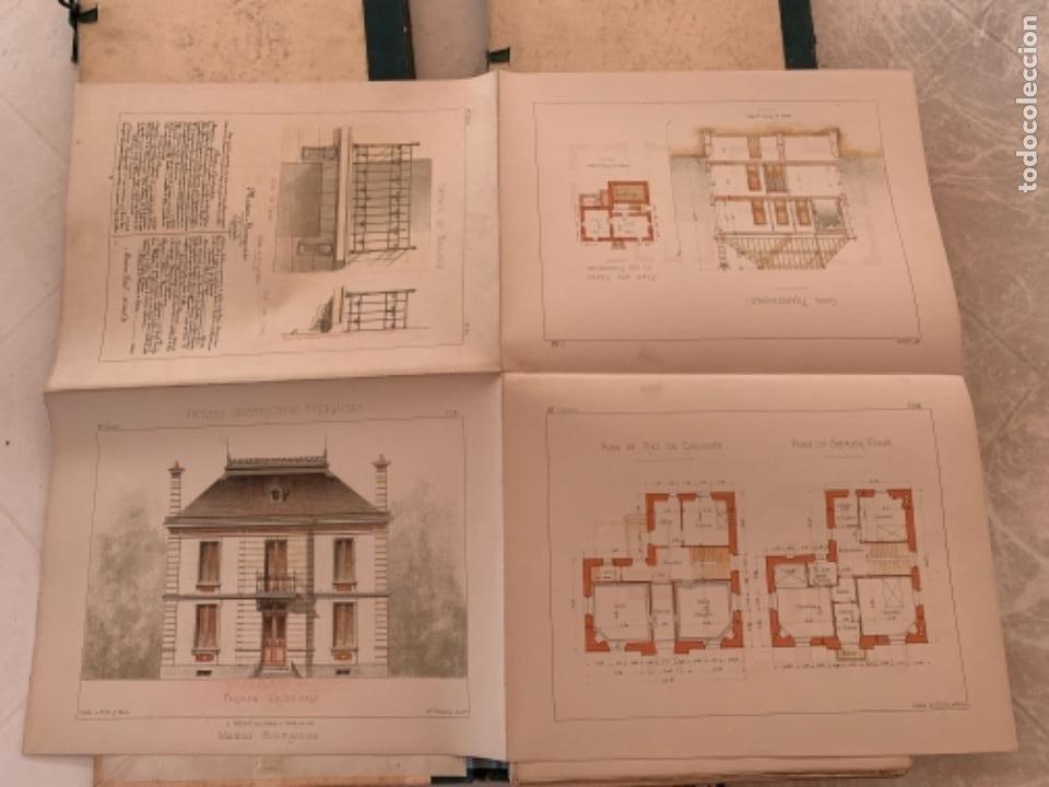 Libros antiguos: PETITES CONSTRUCTIONES FRANÇAISES EMILE THÉZARD 1885 ARQUITECTURA 4 VOLUMENES - Foto 16 - 269454553