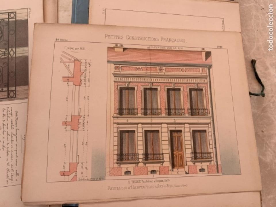 Libros antiguos: PETITES CONSTRUCTIONES FRANÇAISES EMILE THÉZARD 1885 ARQUITECTURA 4 VOLUMENES - Foto 17 - 269454553