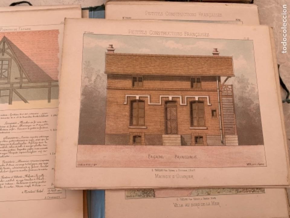 Libros antiguos: PETITES CONSTRUCTIONES FRANÇAISES EMILE THÉZARD 1885 ARQUITECTURA 4 VOLUMENES - Foto 18 - 269454553